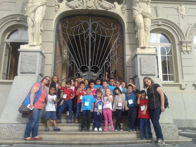CMEI Vila Osternack visita Paço da Liberdade
