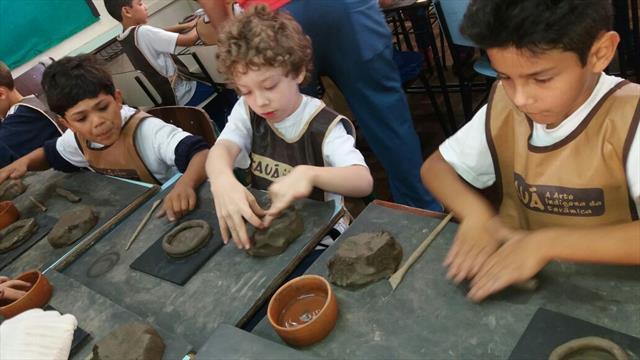 TAUÁ  A Arte Indígena da Cerâmica
