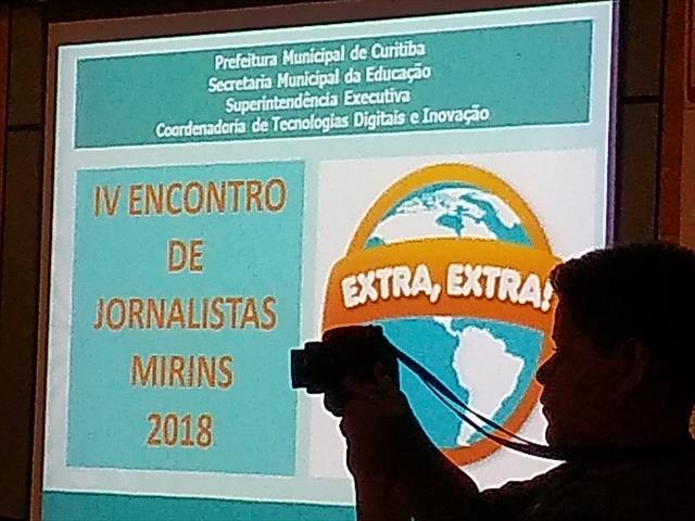 IV Encontro de Jornalistas e Seminário de tecnolog