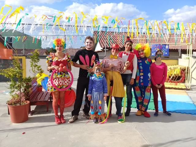 CMEI Vila Osternack traz o imaginário do Circo par