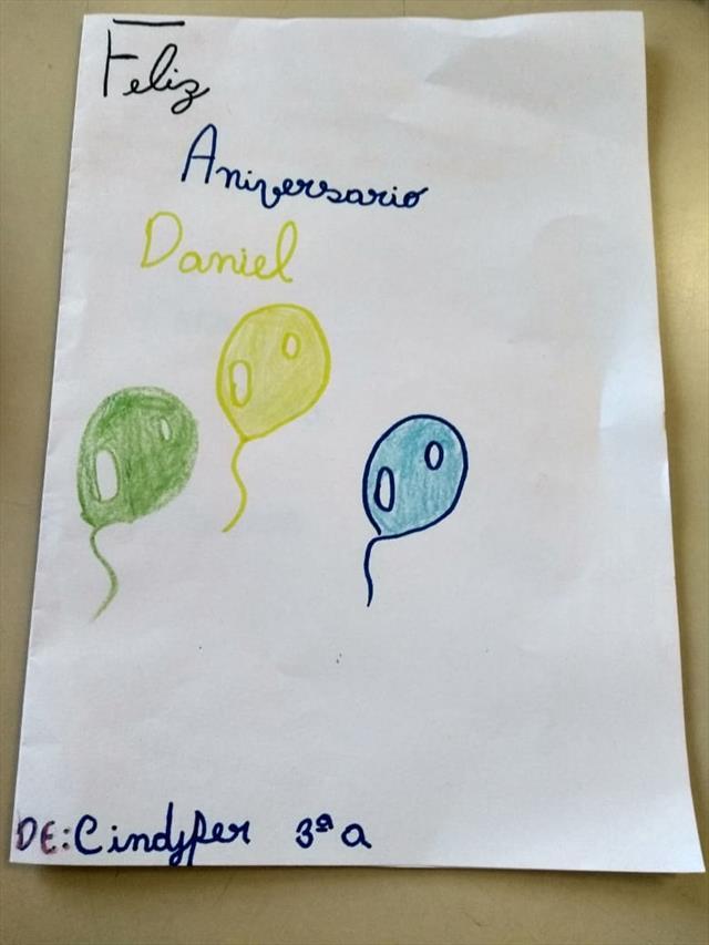 Feliz Aniversário Diretor Daniel