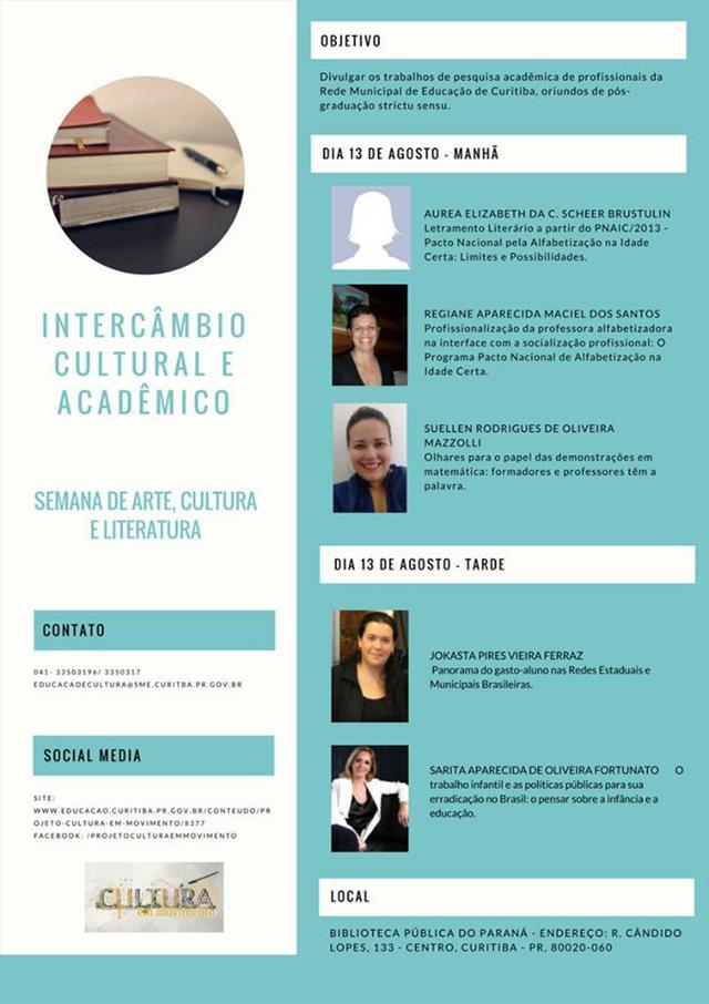 Intercâmbio Cultural e Acadêmico