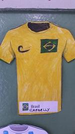 Camisas dos países da copa