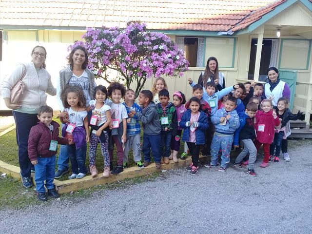 CMEI Vila Osternack conhece Vagão do Armistício