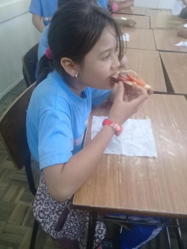 Aprendendo frações com Pizza