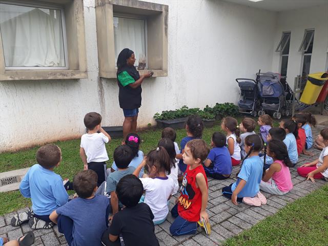 Horta e Jardim - Projeto da Professora Joana