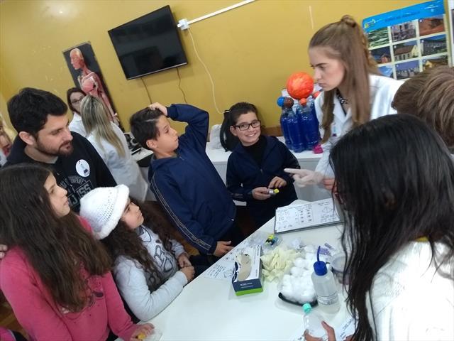 Projeto Cientistas na escola