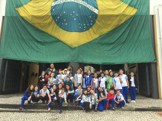 Aula de Cidadania na Praça Rui Barbosa - Dia do So