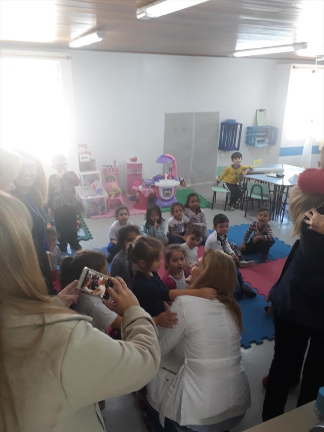 Visita da Secretária Municipal de Educação