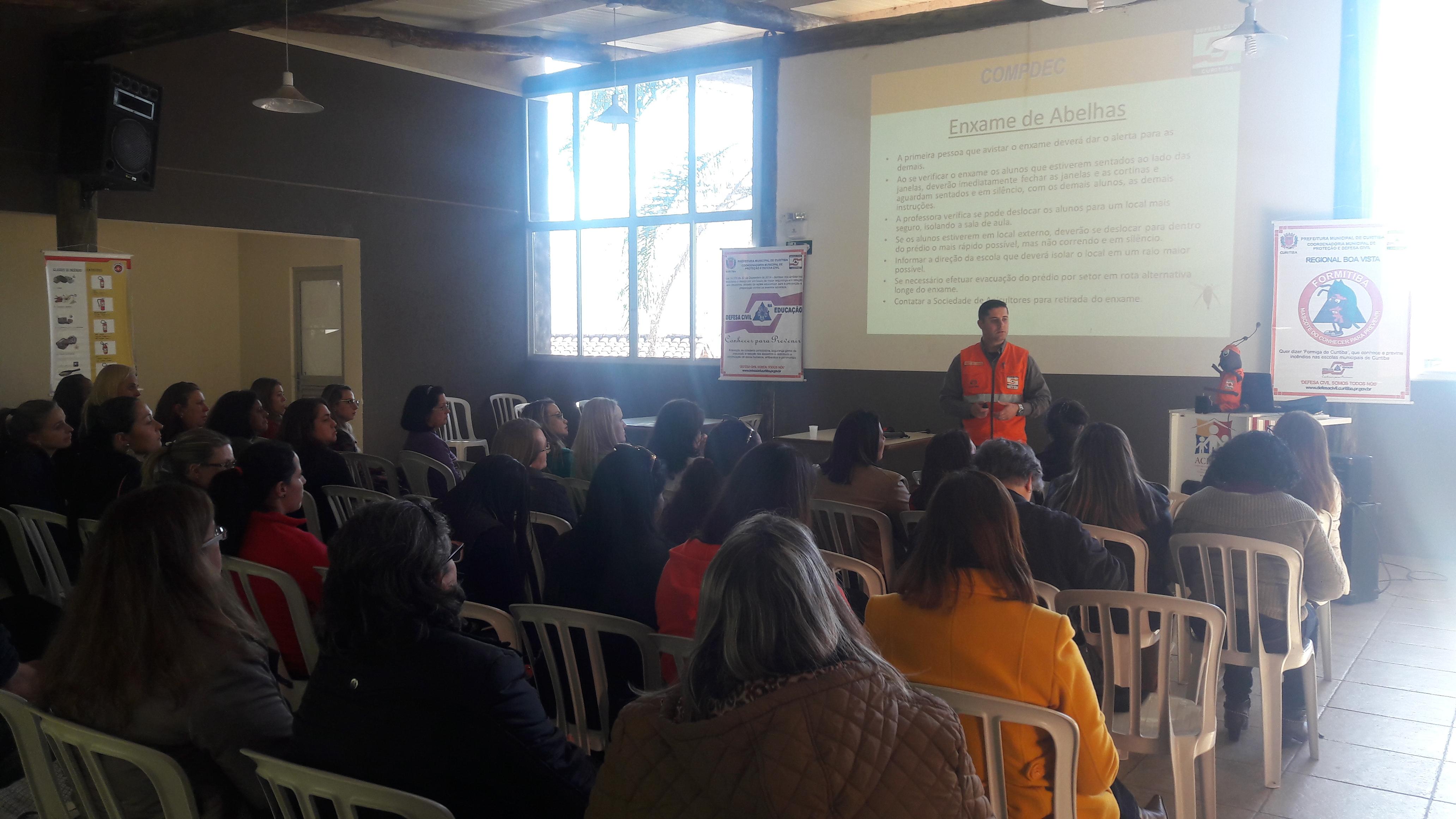 Programa Conhecer para Prevenir na Regional do Boa Vista