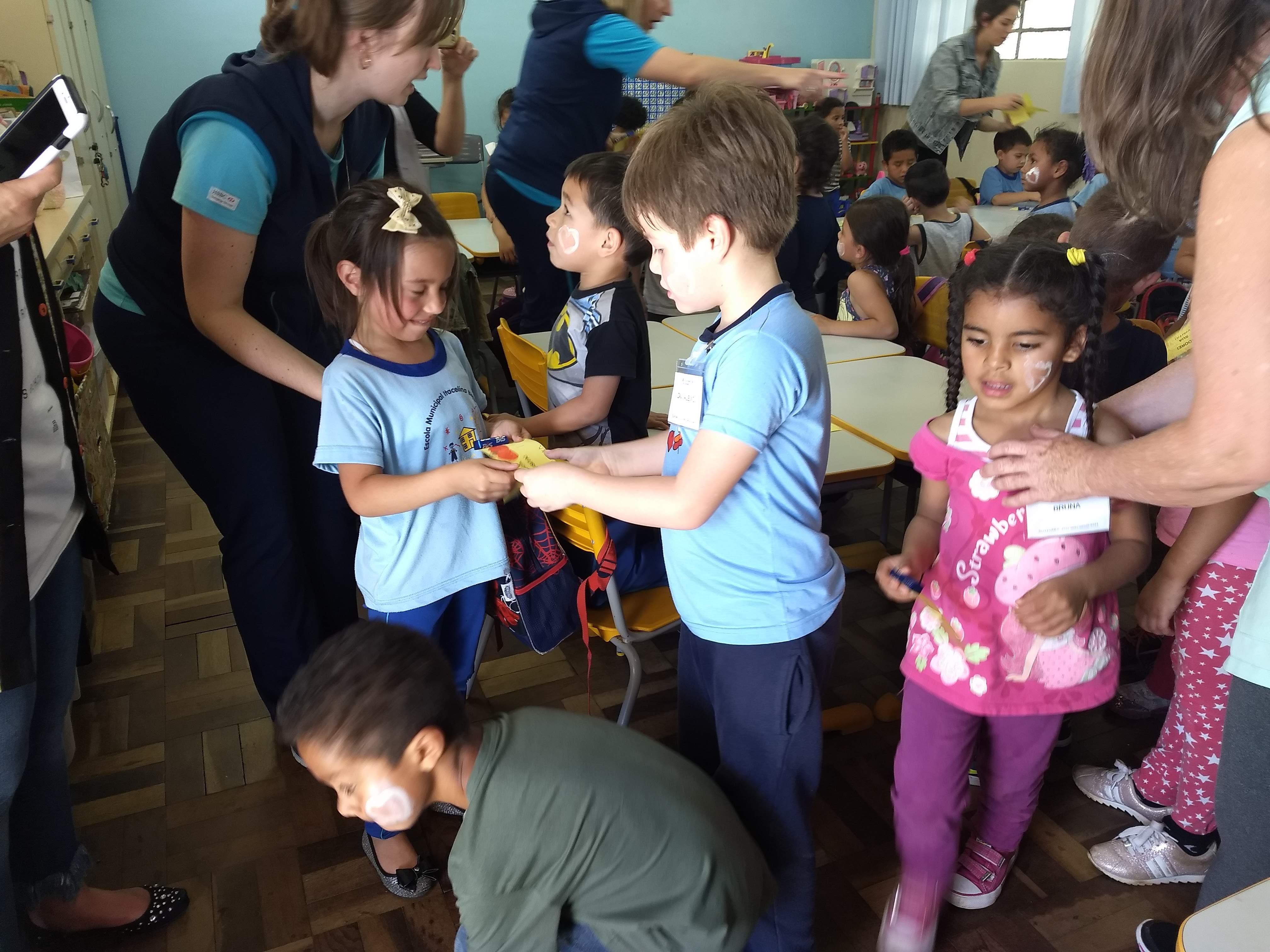 Linhas na Transição da Educação Infantil