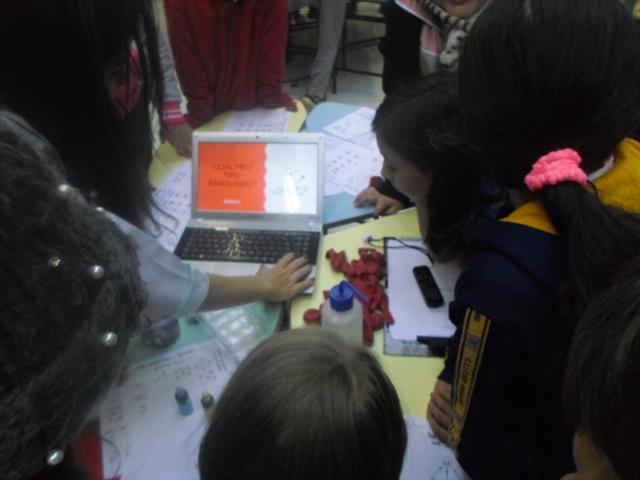 Cientista na escola