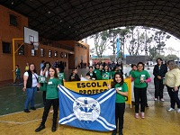 Desfile Cívico na Regional Pinheirinho