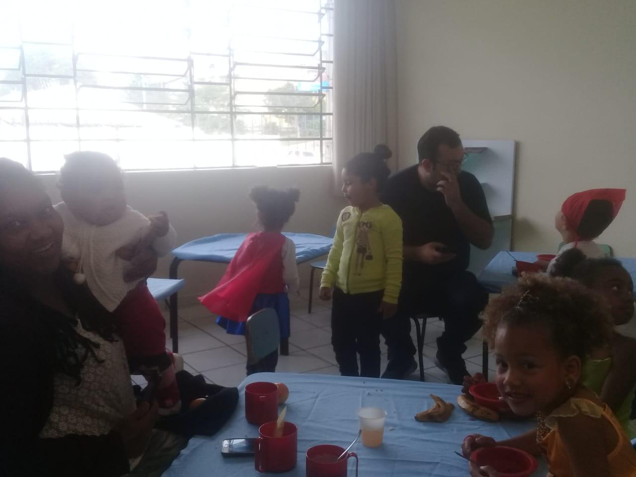 Café das crianças