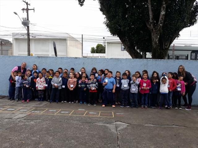 Transição na Escola Municipal Nivaldo Braga