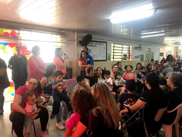 Inauguração do Espaço Cantos Diversificados do Projeto Vila Sésamo e Reinauguração do Espaço Mama Nenê