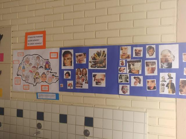 Mostra de atividades sobre Diversidade