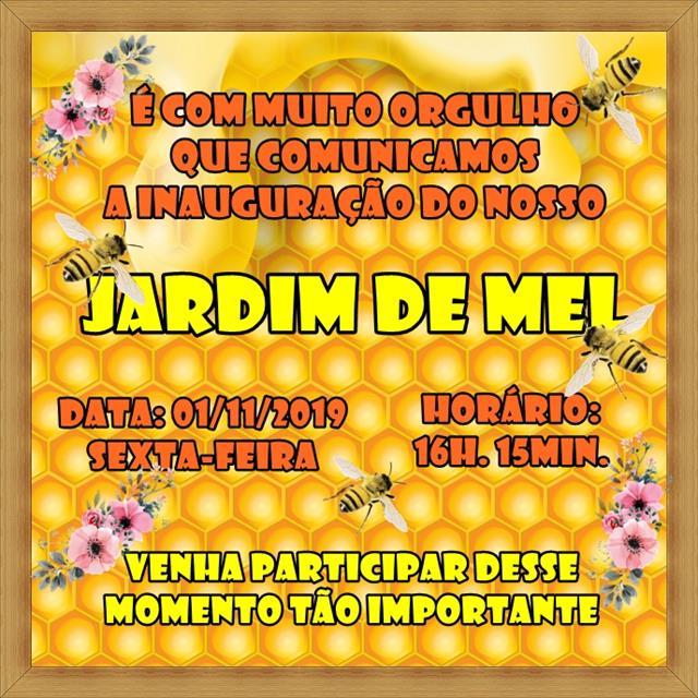 CONVITE INAUGURAÇÃO JARDIM DE MEL