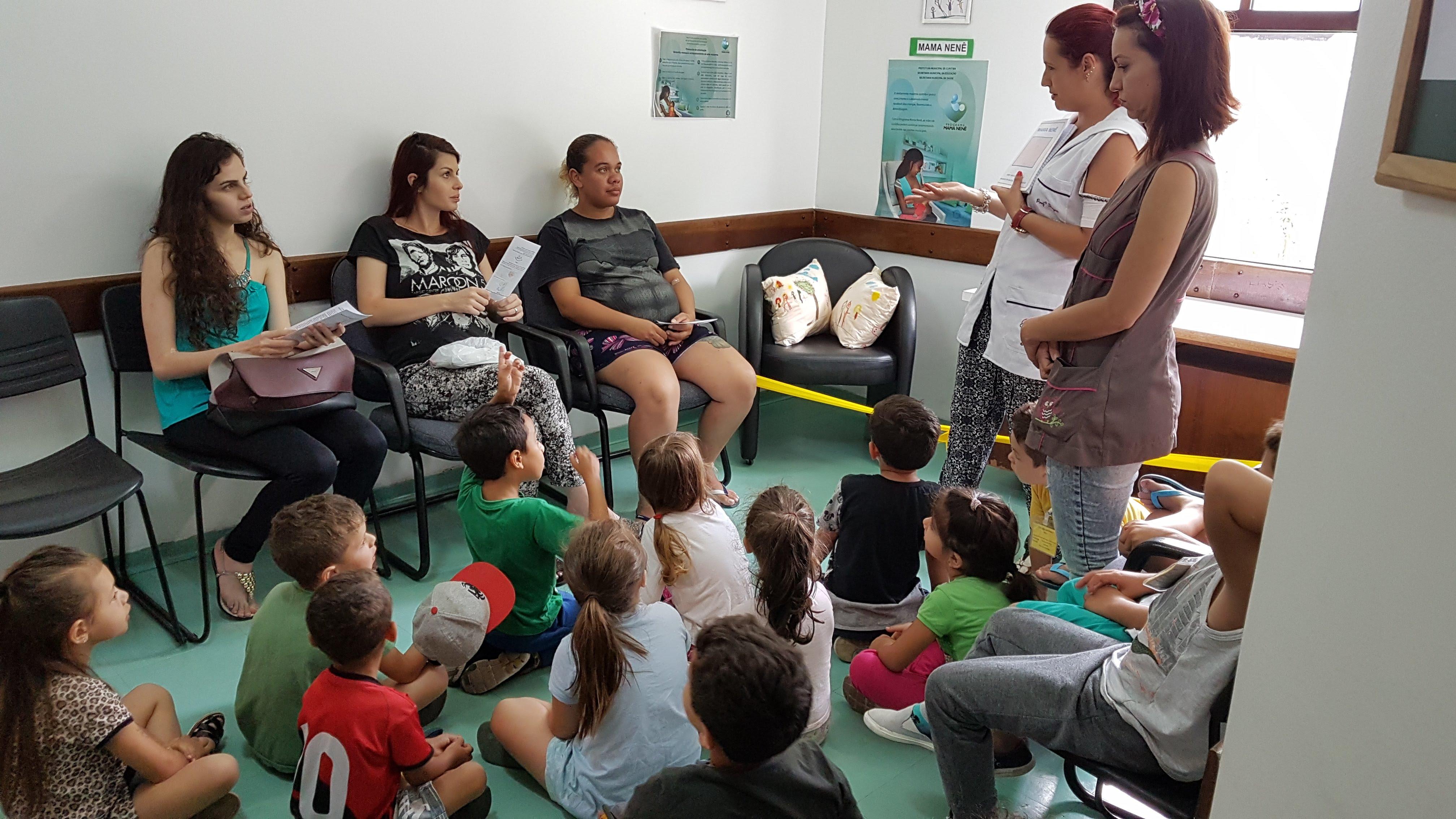 CMEI Ubatuba/Tambaú inaugura espaço do Mama Nenê na U.S Tancredo Neves
