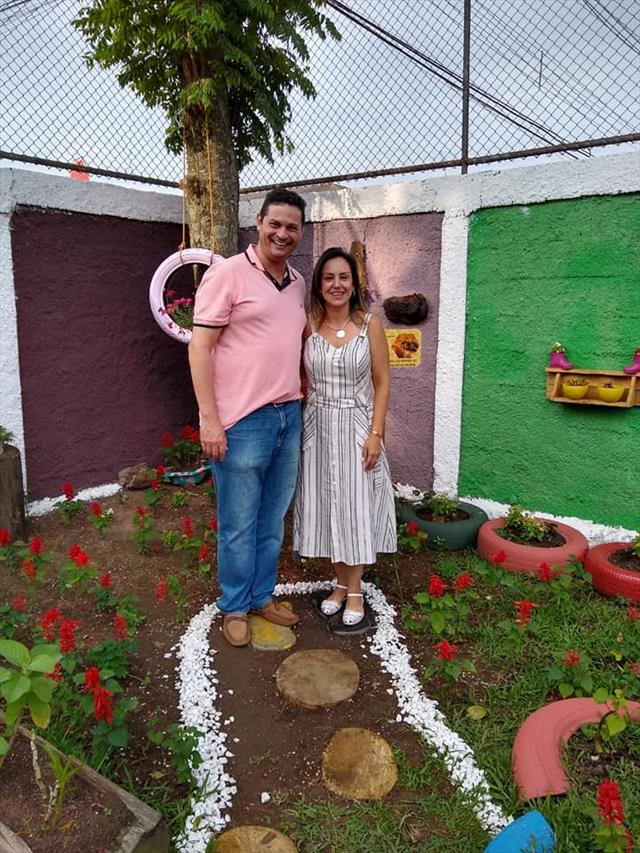 Inauguração Jardim de Mel