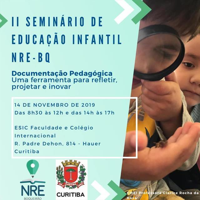 II Seminário de Educação Infantil