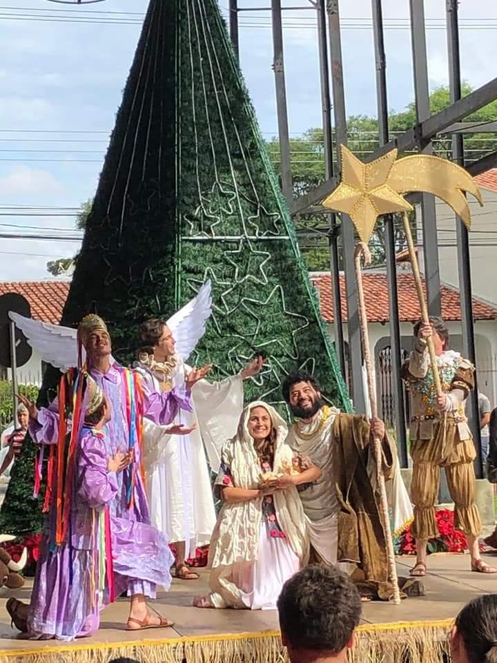 Na tarde de hoje (05/12/2019), aconteceu na Regional de Santa Felicidade, a cerimônia do Natal de Curitiba Luz dos Pinhais