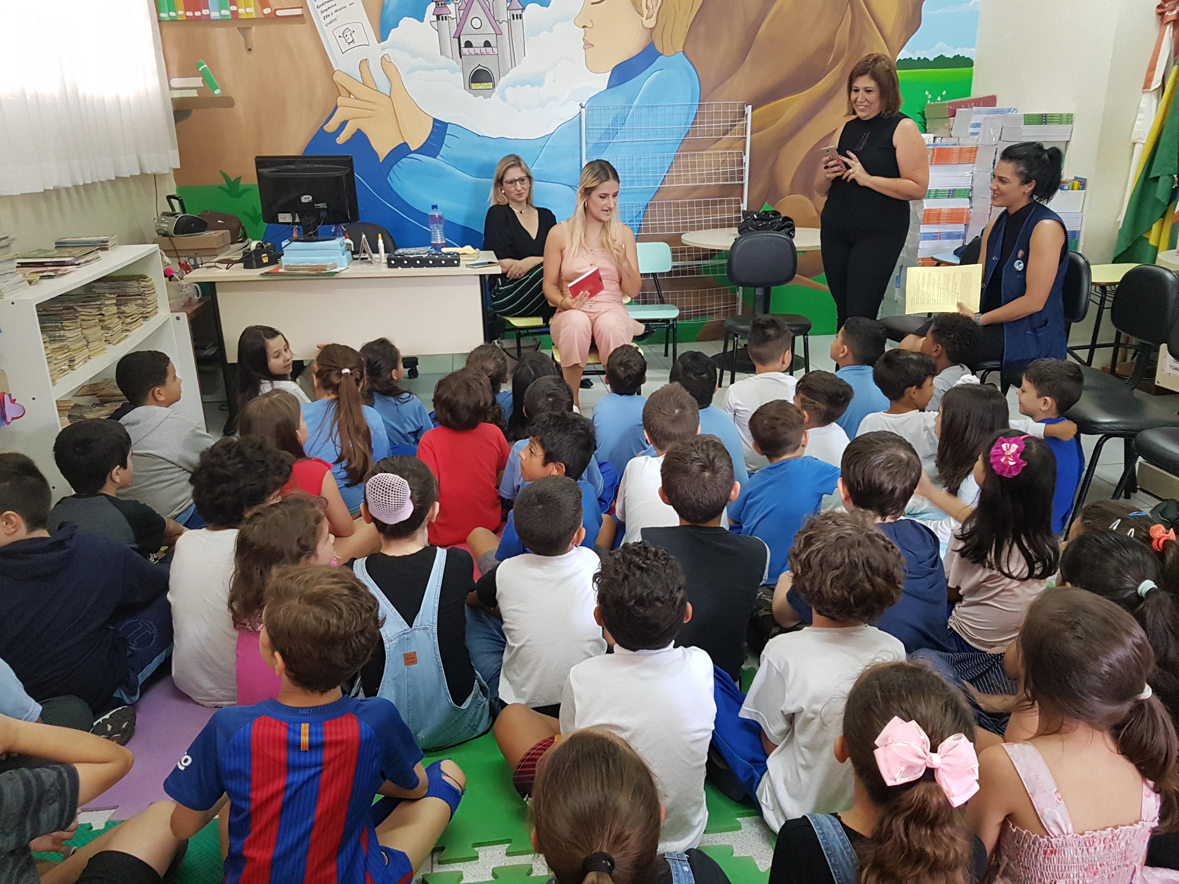 Conversa com os alunos