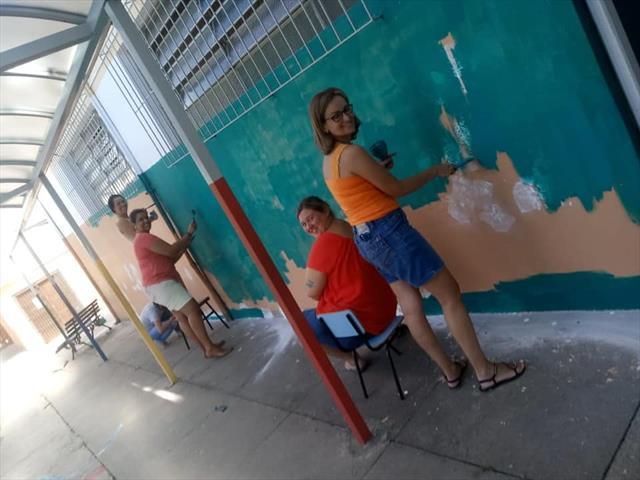 Trote Solidário na Escola Mirazinha Braga