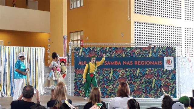 Aulas de Samba na Reginal Cajuru foi de aprendizagem, festa e alegria contagiantes.