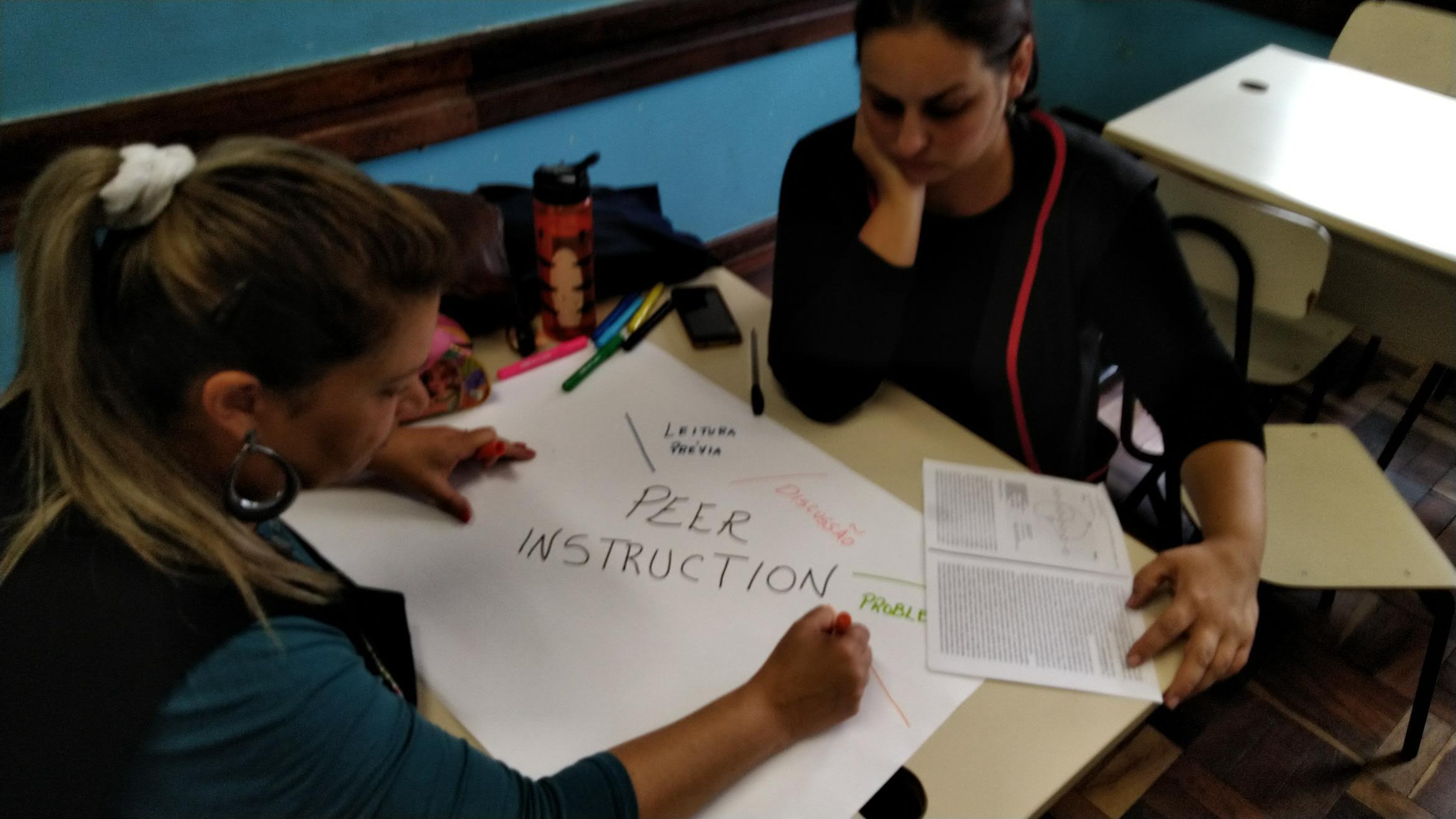 Professores discutem metodologias ativas