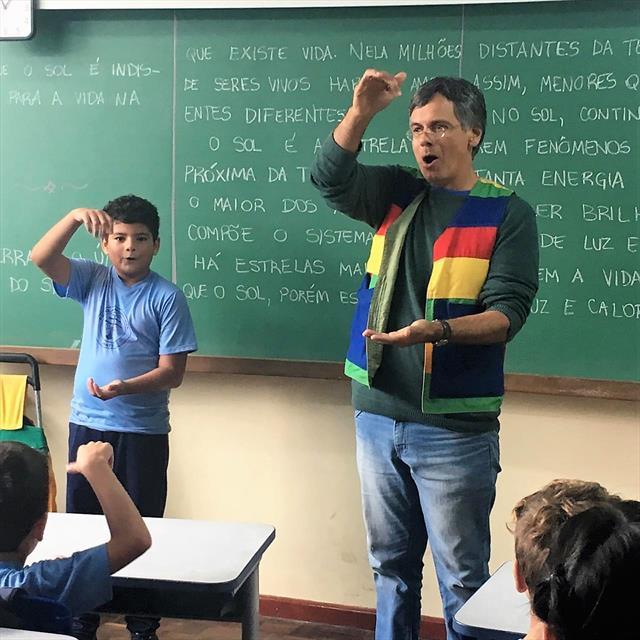 Projeto de incursões de leitura, nas Escolas Irati e Boleslau Falarz