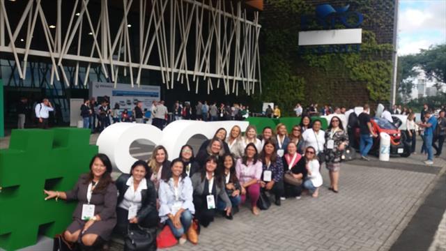 Equipes gestoras das unidades educacionais da Regional Boa Vista participam do Smart City Expo Curitiba 2019