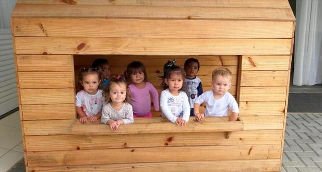 Turma do Berçário - Nossos primeiros dias no CMEI