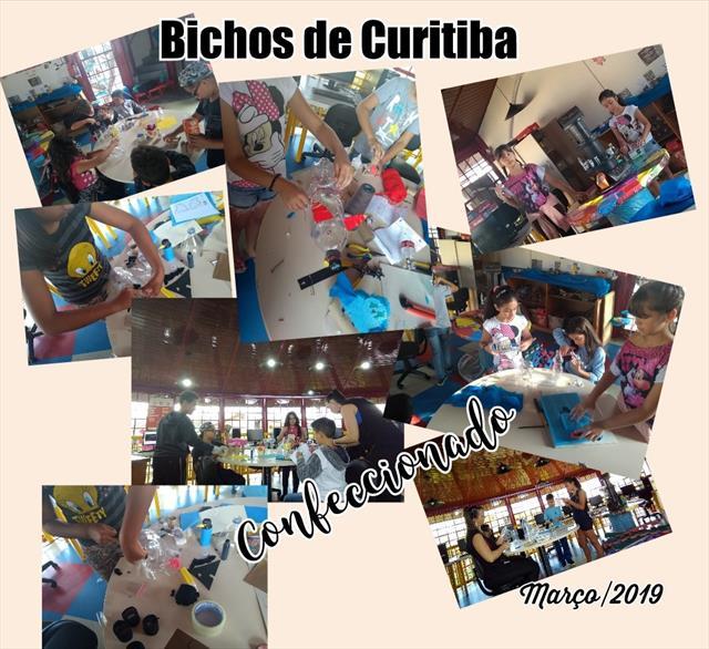 bichos de Curitiba