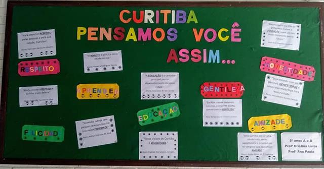 CURITIBA PENSAMOS VOCÊ ASSIM...