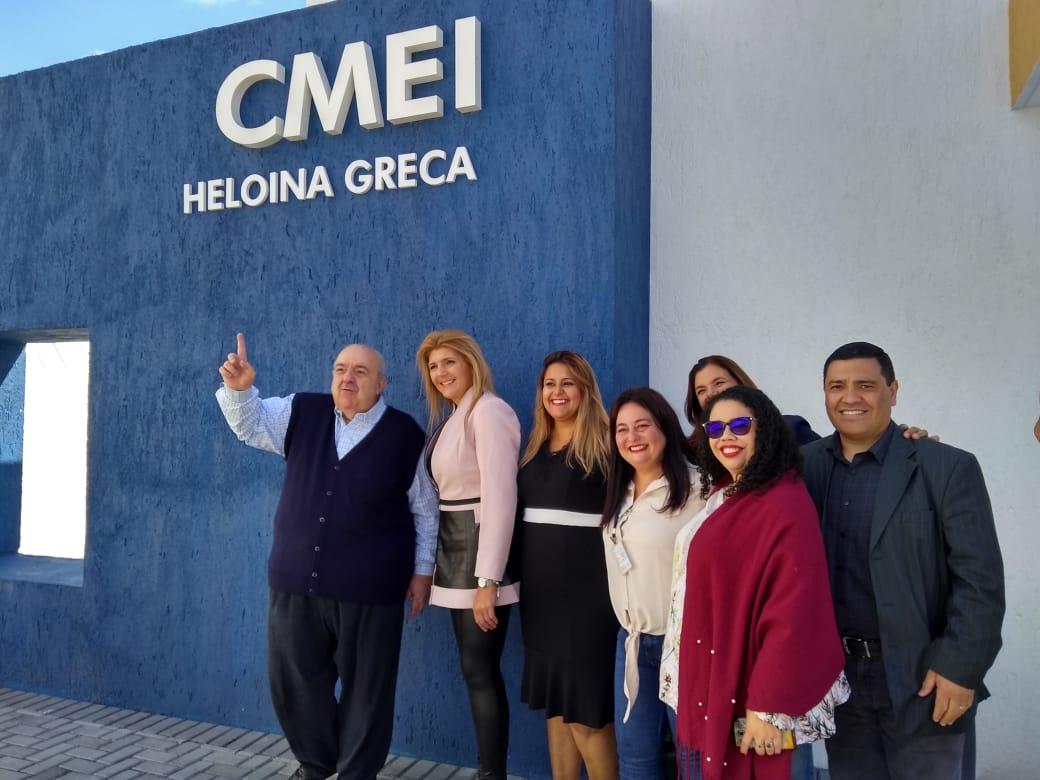 Inauguração do CMEI Heloina Greca