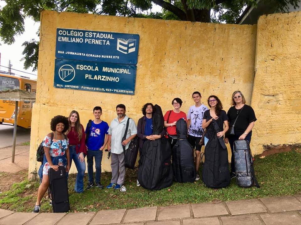 Orquestra vai à Escola - UTFPR