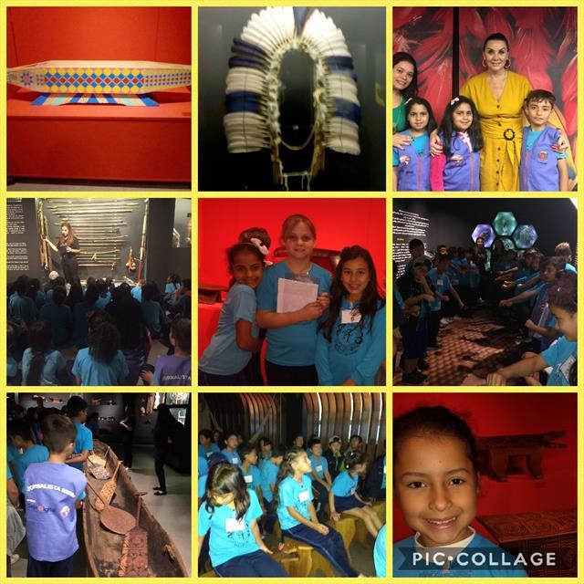 Visita ao Museu de Arte Indígena através do Programa Linhas do Conhecimento