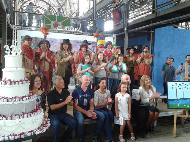 Comemoração do Aniversário de Curitiba