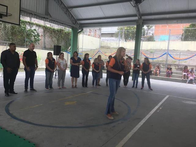 Abertura das ações do Programa Comunidade Escola na EM Professora Nansyr Cecato Cavichiolo