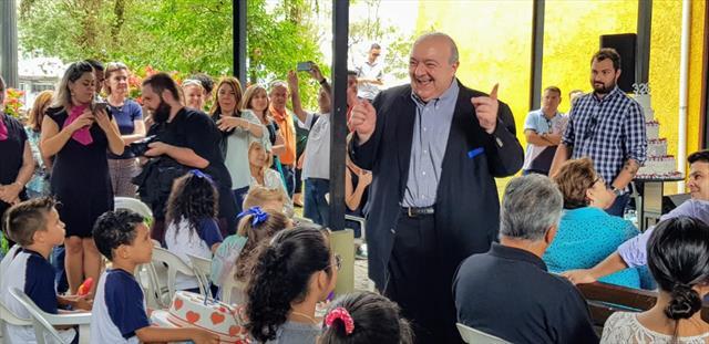 O aniversário de Curitiba comemorado com alegria em Santa Felicidade