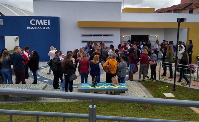 Prefeitura inaugura o Centro Municipal de Educação Infantil Heloina Greca, no Pilarzinho