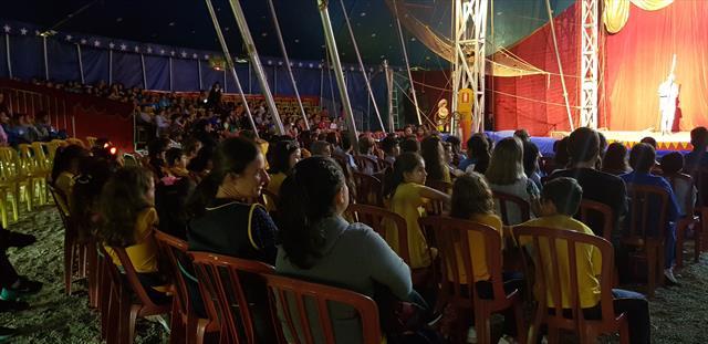 Ampliação Cultural - Circo - Programa Linhas do Conhecimento