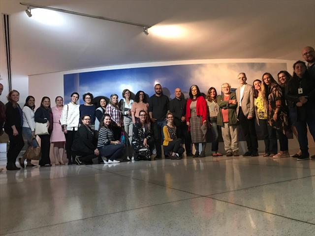 Encontro Educação Educativo no Museu Oscar Niemeyer