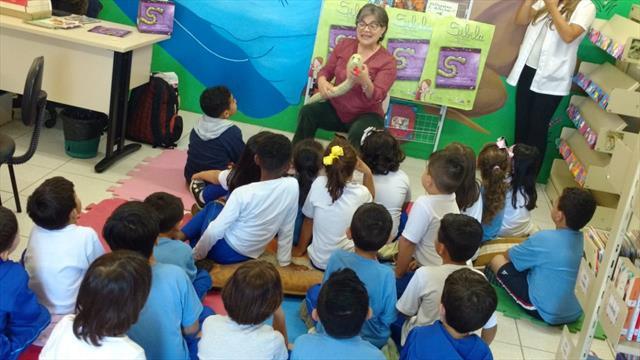 Visita da escritora Marilza Conceição