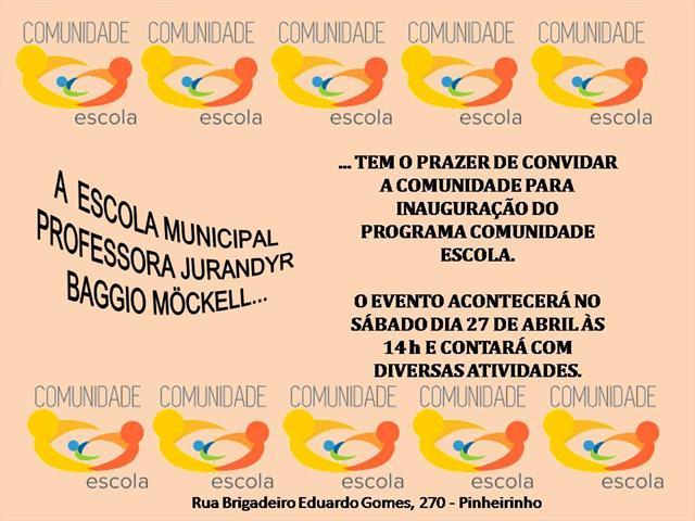 convite Comunidade