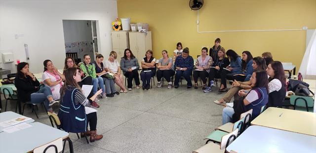 ODP nos CMEIs do Núcleo Regional de Educação da Matriz