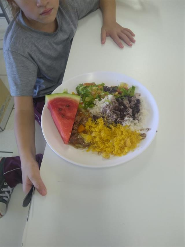 Refeitório - incentivo para uma Alimentação saudável.