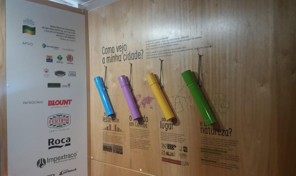 Estreia do Ônibus Museu na Escola Municipal CEI Anísio Teixeira