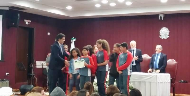 Diplomação dos Grêmios Estudantis - NRE Boa Vista